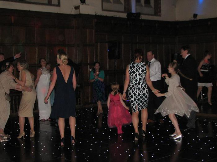 Black Starlit Led Twinkle Dancefloor Hire Charlie Browns